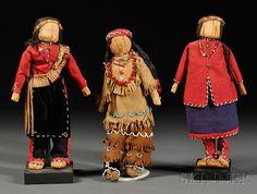 Three Eastern Dolls