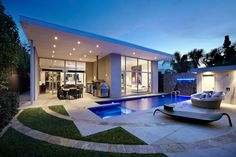 Cloverdale - Tasman Grey Paving and Pool Coping. Domain Pools and Landscapes.