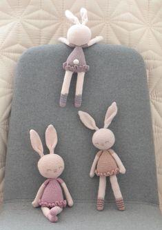 Mesmerizing Crochet an Amigurumi Rabbit Ideas. Lovely Crochet an Amigurumi Rabbit Ideas. Crochet Art, Easy Crochet Patterns, Love Crochet, Baby Knitting Patterns, Crochet Animals, Beautiful Crochet, Crochet Dolls, Amigurumi Doll, Plush Dolls