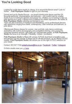 Pole Dance Studio, Pole Dancing, South Africa, How To Look Better, Studios, Dancer, Pole Dance, Studio, Pole Fitness