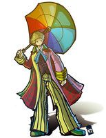The Sixth Doctor by joefreakinrocks on @deviantART