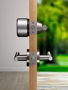 August locks work with your existing deadbolt to improve security and convenience.