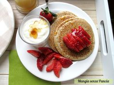 Pancakes senza glutine, uova o lattosio