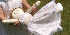 Boneca de Pano casamento criança