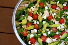 Energy boost summer salad recipe by cupcakepedia