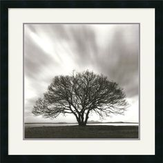 Amanti Art Night Clouds Framed Art Print by Michael Kenna   -    Reminds me of Mt. Hope.