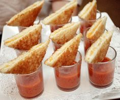Grilled Cheese with Tomato Soup!