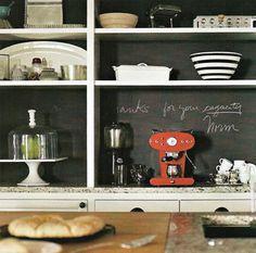 Tablica w kuchni   Silver Teaspoon