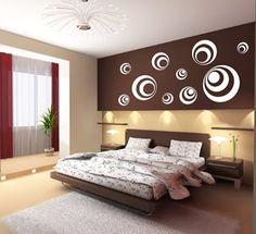 Wandgestaltung Schlafzimmer Ornamente