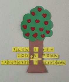 Toplama Montessori Math, Math Classroom, Kindergarten Math, Teaching Math, Math Activities, Preschool Activities, Math Projects, First Grade Math, Math For Kids