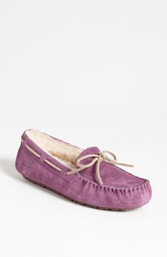 I really want these in dark brown! UGG® Australia 'Dakota' Slipper #Nordstrom