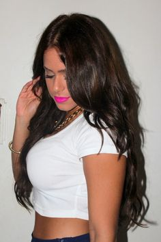 SKR Hair extensions in the color Dark Brown-- 20""