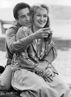 Robert De Niro and Meryl Streep in Falling in Love (1984)