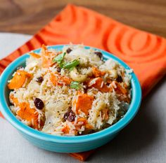 Sweet potato coconut cashew rice bowl. Sometimes rice is the perfect base ingredient for a one-bowl wonder entree.