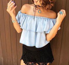 Natalie B Jewelry Desert Flower Choker + Roadie Wrap Bohemian Jewelry, Bohemian Style, Boho Chic, Off Shoulder Fashion, Off Shoulder Blouse, Sterling Silver Flowers, Sterling Silver Pendants, Flower Choker, Desert Flowers