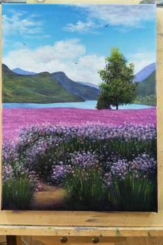 malen Mountain & Lake STEP by STEP Acrylic Painting Tutorial Art tutorial Acrylic Art tutorial landscape Lake malen mountain Painting Step Tutorial Easy Canvas Art, Small Canvas Art, Acrylic Art, Acrylic Painting Canvas, Heart Painting, Art Sur Toile, Canvas Painting Tutorials, Painting Lessons, Painting Tips