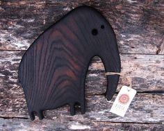 Wooden Cheese Board Elephant Oak Cutting Board Rustic Wood | Etsy Wood Chopping Board, Cutting Board, Wooden Cheese Board, Wooden Plates, Bread Board, Elephant Design, Rustic Wood, Storage Spaces, Anniversary Gifts