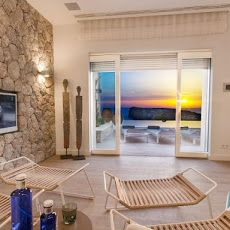 Newly built luxury #villa in Port d'Andratx in #Mallorca with fantastic #sea views and year round sunsets.