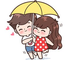 Sticker pack for cute couples in love Cute Chibi Couple, Love Cartoon Couple, Cute Love Cartoons, Cute Couple Art, Anime Love Couple, Cute Anime Couples, Cute Love Pictures, Cute Love Gif, Beautiful Pictures