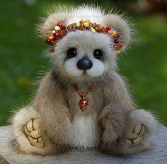 Lexie - a mink cub / Teddy Bears & Pals / Teddy Talk: Creating, Collecting, Connecting