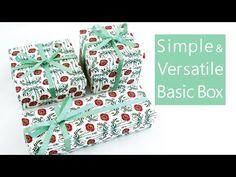 使える折紙  変形自在の箱 New Basic Origami Box - YouTube