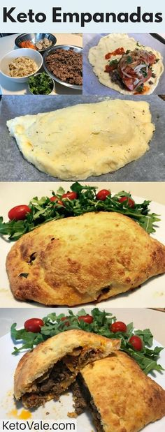 Low carb Empanadas are crispy, tasty and smell so good. I love to bake them until they turn brown and put a bit of cheese on top to melt