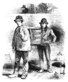 """London Nightmen ~ """"It was the task of these men to excavate and cart off the human excreta deposited in cesspools, labor referred to as """"nightwork"""" because by law it could only be performed after twelve o'clock at night."""