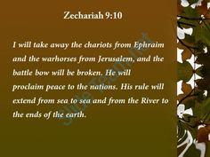 zechariah 9 10 the chariots from ephraim powerpoint church sermon Slide03  http://www.slideteam.net/