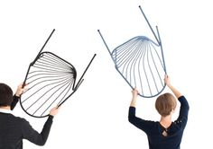 Drapee chair by Constance Guisset via Dezeen website