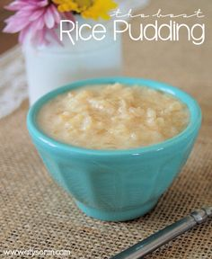 The best Rice Pudding Recipe