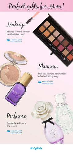 Budget friendly Mother's Day gifts for mom from Ulta! She will love receiving makeup, Tarte skincare products, or Jimmy Choo perfume. | www.shopkick.com
