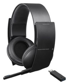 Sony Wireless Stereo Headset - auriculares para TV y PlayStation