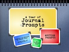 A Year of Journal Prompts: 402 Total Prompts http://www.teacherspayteachers.com/Product/A-Year-of-Journal-Writing-Prompts-Common-Core-Standards