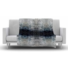 FREE SHIPPING! Shop AllModern for KESS InHouse Heavenly Abstraction l Fleece Throw Blanket - Great Deals on all  products with the best selection to choose from! KESS InHouse #geometric #art #blanket #decorideas #blanket #livingroomdecor #giftidea