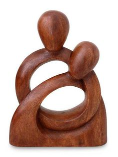 "'Eternity of Love' I love love love all of the Balinese carved ""love"" and ""heart"" wood sculpture. I think this will be what I start collecting... hmmm...."