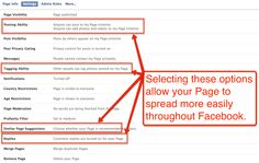 "FACEBOOK PAGE TIP: 4 ""Must Select"" Setting to Increase Engagement"