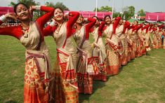 Great Assamiya Bihu Dance - In Assam with Parjatakguru Travel
