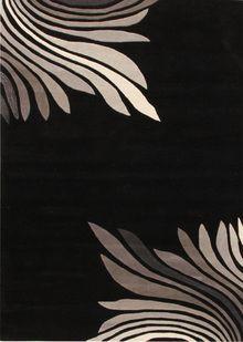 Sari Azura Black Rug