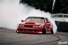 Bathed in a beautiful red, this impeccable Silvia sits like the flitting woman of my wildest dreams, alluring, pleasing to the eye, and not without a few ma S13 Silvia, Best Jdm Cars, Nissan 180sx, Street Racing Cars, Auto Racing, Japanese Sports Cars, Jdm Wallpaper, Nissan Silvia, Drifting Cars