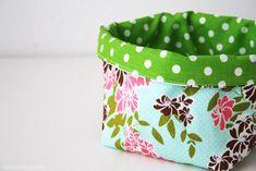 Luloveshandmade: DIY: Fabric Basket Sewing Tutorial