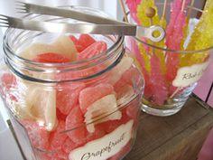 lillyella: Our Wedding Candy Bar