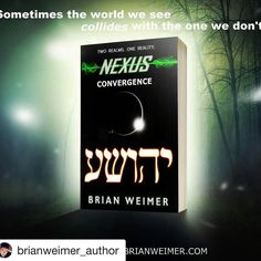 #Repost @brianweimer_author with @repostapp  Nexus: Convergence available now in paperback and kindle through Amazon.com! Thanks @drop.dead.design for the mockup!  #author #writer #writersofinstagram #bookish #bookstagram #bookworm #amazon #kindle #amazon