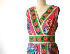Wall Flowers need not apply Pucci Mr Dino era Dress by vintage303, $375.00