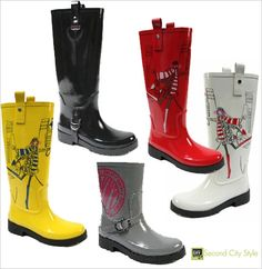 Fall in Love With DKNY's Fall 2010 Active Rain Boots