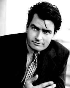 Charlie Sheen- I love a man that knows how to party and keep his shit together. ;)