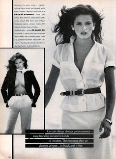 Gia Carangi, 1979 Vogue USA, May 1979 Photographed by Mike Reinhardt Hair & Makeup by Rick Gillette