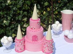 Princess Castle Cake and more...