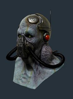 Jordu Schell / Schell Sculpture Studios - Alien by Aeron Alfrey, via Flickr