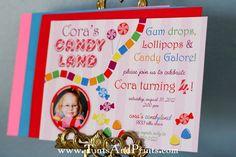 Chevron Candyland inspired birthday party. #birthday #party