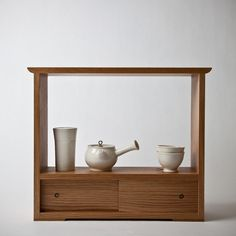 Tea cabinet by Gilbert Garcia